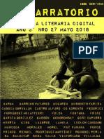 EL NARRATORIO ANTOLOGIA LITERARIA DIGITAL NRO 27 MAYO 2018.pdf