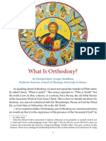 what is orthodoxy