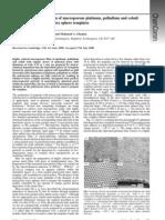 3-Electrochemical Deposition of Macro Porous Platinum, Palladium and Cobalt Chem Commu 2000