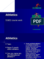 athletics power point