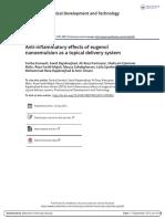 Anti Inflammatoryeffectsofeugenolnanoemulsionasatopicaldeliverysystem (1)