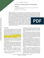7fdtd Studies of the Optical Properties of Nanoshell Dimers
