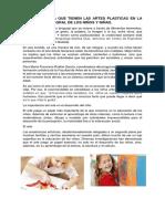 La Importancia de La Expresión Artística en Los Niños ENI
