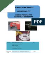 Laboratorio Liquidos Penetrantes-Particulas Magneticas