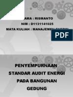 13.Penyempurnaan Standar Audit Energi Pada B