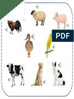 Animales y Onomatopeya