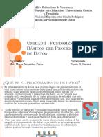 fundamentos basicos del procesamiento de datos