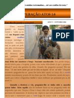 Boletim Missionário - Pr. Luis e Família - Senegal - Outubro 2010