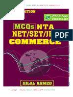 UGC MCQ COMMERCE
