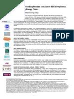 FactSheet Energy Code Compliance Funding