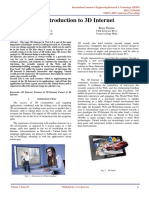 An Introduction to 3d Internet IJERTCONV3IS28009