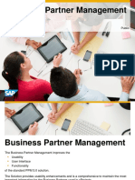 Business Partner Management PPM