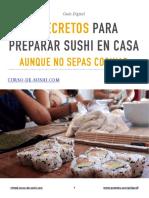 3 Secretos Para Preparar Sushi en Casa