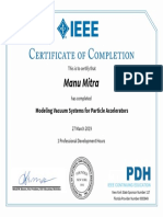 69. IEEE PDH (Modeling Vacuum Systems)
