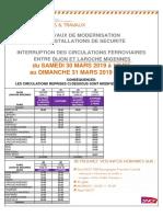 Info Travaux Ter Dijon Laroche Migennes Paris Samedi 30 Et Dimanche 31 Mars 2019 Tcm74-7935 Tcm74-218150