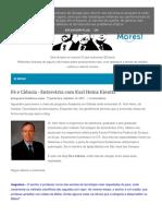 Fé e Ciencia Entrevista Com Karl Heinz Kienitz
