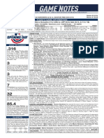 03.28.19 Game Notes