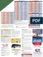 Van Galder Bus Schedule