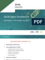 2018 Open Enrollment Presentation_100517