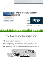 7 Habits of Highly Effective People Final