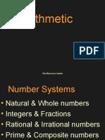 Arithmetic LCM