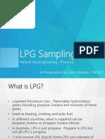 NGE LPG Sampling