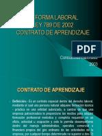 REFORMA LABORAL - Aprendices134627914.ppt