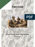 Fireteam Modern Wargame1