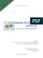 Manual Ax b Unlocked