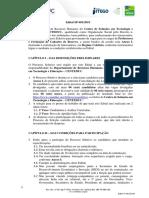 Edital do Concurso para professores do Centeduc - GO