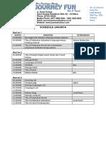 Contoh schedule