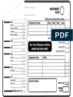 Droid Sheet Form