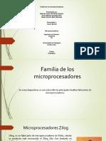 Familia de los microprocesadores.pptx