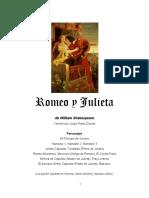 Romeo y Julieta 2019 Versión Por Jorge Prado Zavala