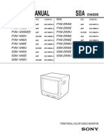 Sony PVM Manual