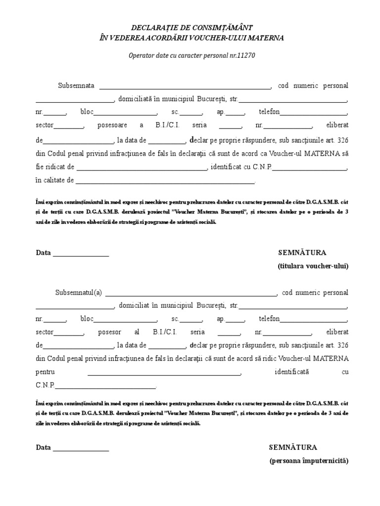 dating declarații