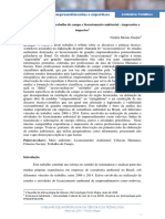 Cientistas humanos, trabalho de campo e licenciamento ambiental