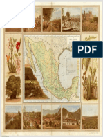 Carta Agrícola VIII - García Cubas 1885