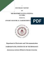 Antenna Report