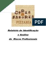 Relatório de Identificação e Análise de Riscos Profissionais