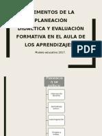 Elementos de La Planeación.