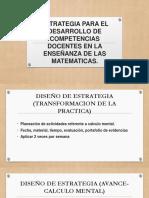 Estrategia Para El Desarrollo de Competencias Docentes En