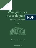Antiguidades e usos do passado – temas e abordagens, de Leandro Hecko