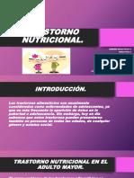 TRASTORNO NUTRICIONAL (1)