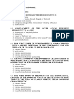 Test_9 Chronic Periodontitis