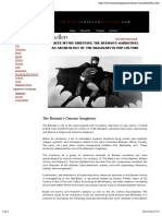 GREEK MYTHS ORIENTING THE BATMAN'S NARRATIVES