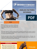 Análisis Factores Externos empresa