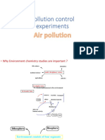Pollution Control Experiments