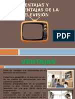 Ventajas y Desventajas de La Televisión1