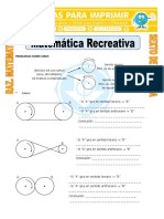 Matemática Recreativa Para Sexto de Primaria